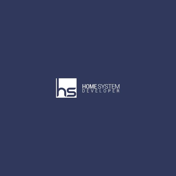 Projekt logotypu home system